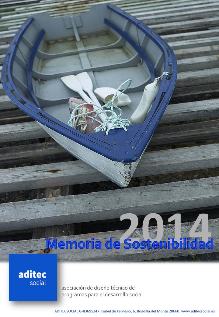MEMORIA SOSTENIBILIDAD 2014